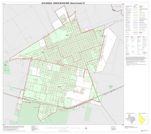 Primary view of object titled '2010 Census County Block Map: Reeves County, Inset A01'.