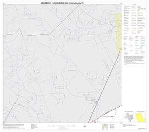 Primary view of object titled '2010 Census County Block Map: Liberty County, Block 1'.