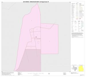Primary view of object titled '2010 Census County Block Map: Jim Hogg County, Inset B01'.