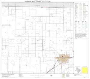 Primary view of object titled '2010 Census County Block Map: Parmer County, Block 2'.