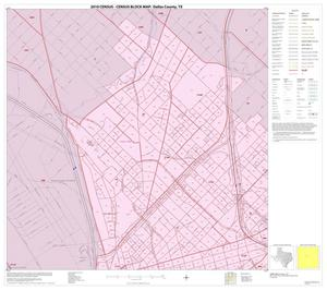 Primary view of object titled '2010 Census County Block Map: Dallas County, Inset I01'.