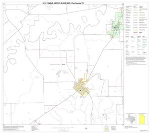 Primary view of object titled '2010 Census County Block Map: Clay County, Block 5'.