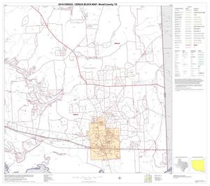 Primary view of object titled '2010 Census County Block Map: Wood County, Block 17'.