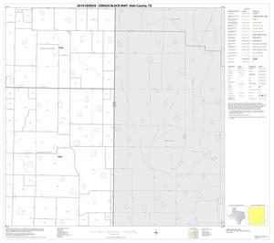 Primary view of object titled '2010 Census County Block Map: Hale County, Block 12'.