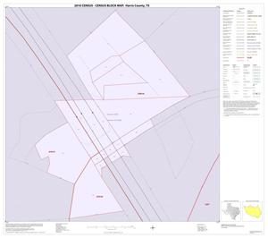 Primary view of object titled '2010 Census County Block Map: Harris County, Inset S01'.