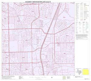 Primary view of object titled '2010 Census County Block Map: Collin County, Block 84'.