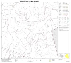 Primary view of object titled '2010 Census County Block Map: Polk County, Block 6'.