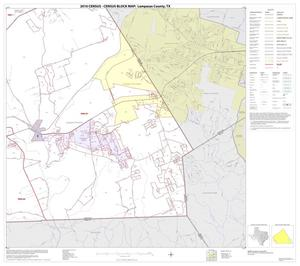 Primary view of object titled '2010 Census County Block Map: Lampasas County, Block 16'.