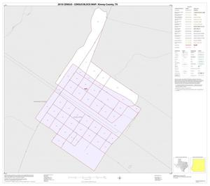 Primary view of object titled '2010 Census County Block Map: Kinney County, Inset D01'.
