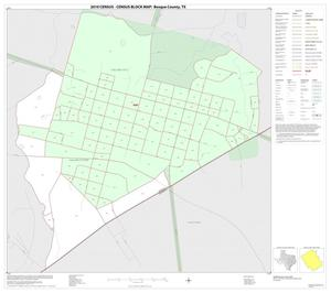 Primary view of object titled '2010 Census County Block Map: Bosque County, Inset K01'.