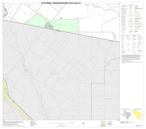 Primary view of object titled '2010 Census County Block Map: Bee County, Block 18'.