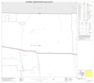 Primary view of object titled '2010 Census County Block Map: Denton County, Block 9'.