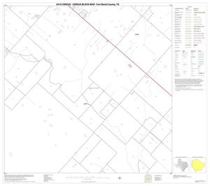 Primary view of object titled '2010 Census County Block Map: Fort Bend County, Block 64'.