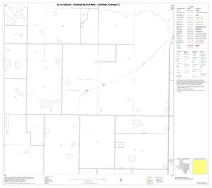 Primary view of object titled '2010 Census County Block Map: Ochiltree County, Block 10'.