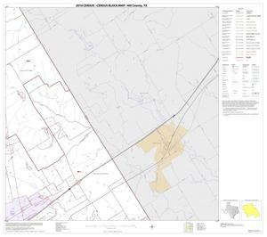 Primary view of object titled '2010 Census County Block Map: Hill County, Block 7'.
