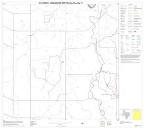 Primary view of object titled '2010 Census County Block Map: McCulloch County, Block 8'.
