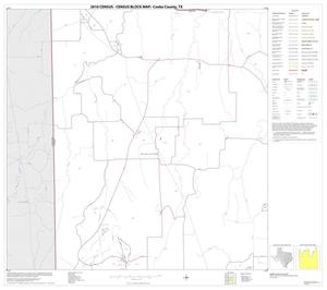 Primary view of object titled '2010 Census County Block Map: Cooke County, Block 8'.