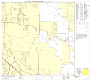 Primary view of object titled '2010 Census County Block Map: Denton County, Block 46'.