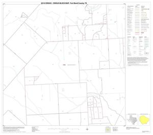 Primary view of object titled '2010 Census County Block Map: Fort Bend County, Block 66'.