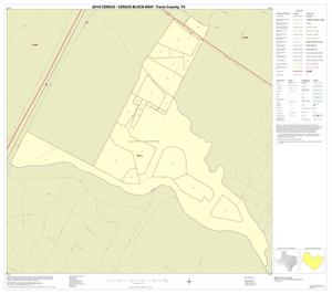 Primary view of object titled '2010 Census County Block Map: Travis County, Inset G01'.