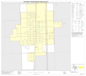 Primary view of object titled '2010 Census County Block Map: Willacy County, Inset F01'.