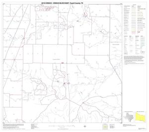 Primary view of object titled '2010 Census County Block Map: Foard County, Block 9'.