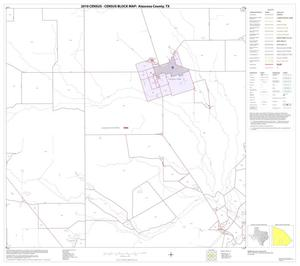 Primary view of object titled '2010 Census County Block Map: Atascosa County, Block 21'.
