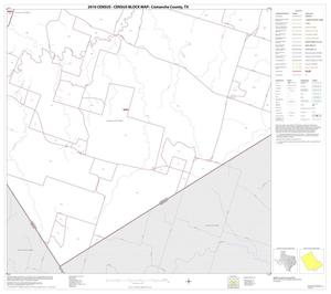 Primary view of object titled '2010 Census County Block Map: Comanche County, Block 20'.
