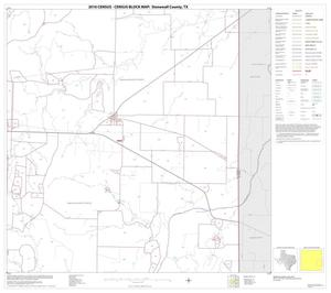 Primary view of object titled '2010 Census County Block Map: Stonewall County, Block 12'.