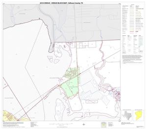 Primary view of object titled '2010 Census County Block Map: Calhoun County, Block 3'.