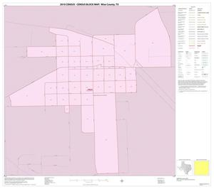 Primary view of object titled '2010 Census County Block Map: Wise County, Inset H01'.