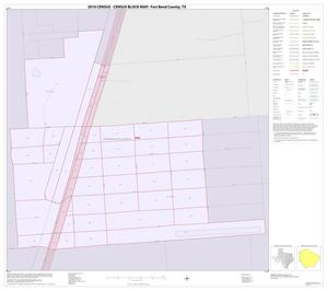 Primary view of object titled '2010 Census County Block Map: Fort Bend County, Inset J01'.