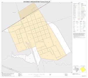 Primary view of object titled '2010 Census County Block Map: Freestone County, Inset A01'.