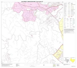 Primary view of object titled '2010 Census County Block Map: Travis County, Block 32'.