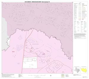 Primary view of object titled '2010 Census County Block Map: Harris County, Block 3'.