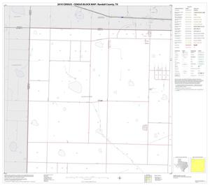 Primary view of object titled '2010 Census County Block Map: Randall County, Block 1'.