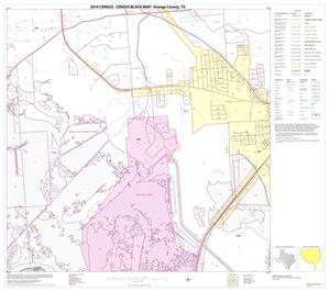 Primary view of object titled '2010 Census County Block Map: Orange County, Block 21'.