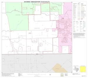 Primary view of object titled '2010 Census County Block Map: Tarrant County, Block 59'.