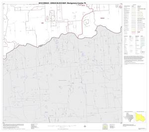 Primary view of object titled '2010 Census County Block Map: Montgomery County, Block 43'.