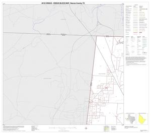 Primary view of object titled '2010 Census County Block Map: Reeves County, Block 1'.