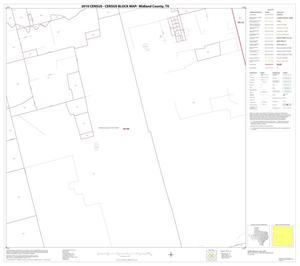 Primary view of object titled '2010 Census County Block Map: Midland County, Block 10'.