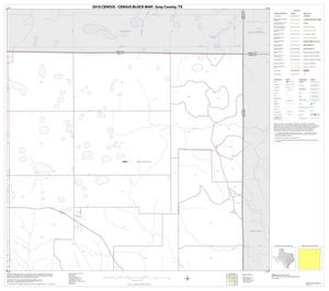 Primary view of object titled '2010 Census County Block Map: Gray County, Block 4'.