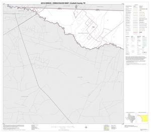 Primary view of object titled '2010 Census County Block Map: Crockett County, Block 1'.