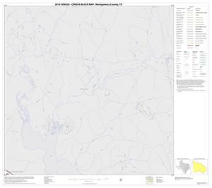 Primary view of object titled '2010 Census County Block Map: Montgomery County, Block 4'.