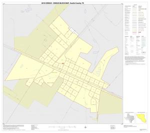 Primary view of object titled '2010 Census County Block Map: Austin County, Inset D01'.