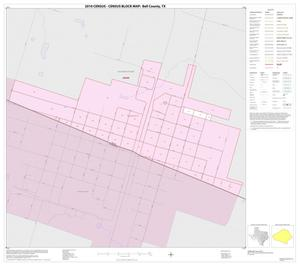 Primary view of object titled '2010 Census County Block Map: Bell County, Inset M01'.