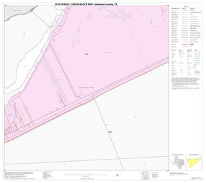 Primary view of object titled '2010 Census County Block Map: Galveston County, Block 9'.