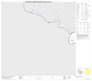 Primary view of object titled '2010 Census County Block Map: Kinney County, Block 16'.