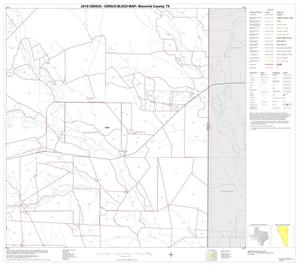 Primary view of object titled '2010 Census County Block Map: Maverick County, Block 8'.