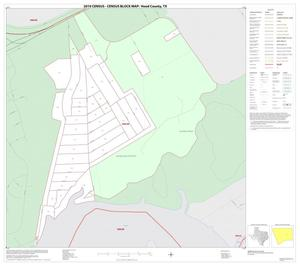 Primary view of object titled '2010 Census County Block Map: Hood County, Inset E01'.